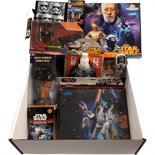 an image of a star wars mystery gift box - one of our picks of star wars christmas gifts or birthday gifts