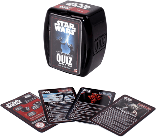 an image of the star wars top trumps game