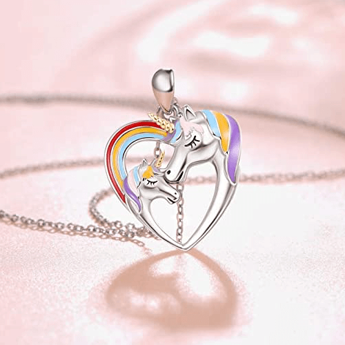 an image of a sterling silver necklace gift idea for girls