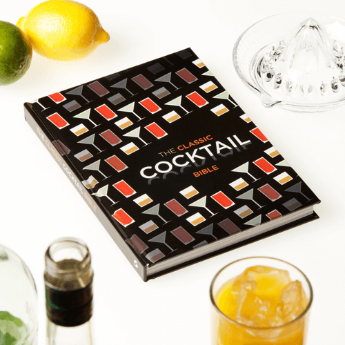 an image of a cocktail book called the classic cocktail bible