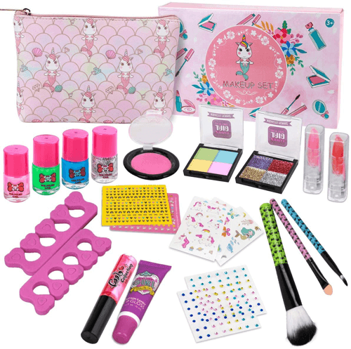 an image of a mythical creature themed washable make up set