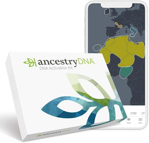 an image of an ancestry dna kit