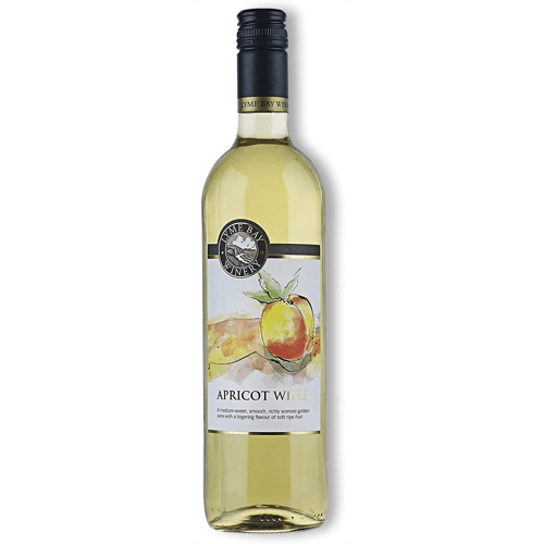 an image of apricot wine