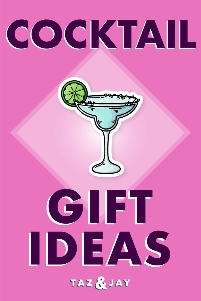 cocktail gifts pinterest pin image