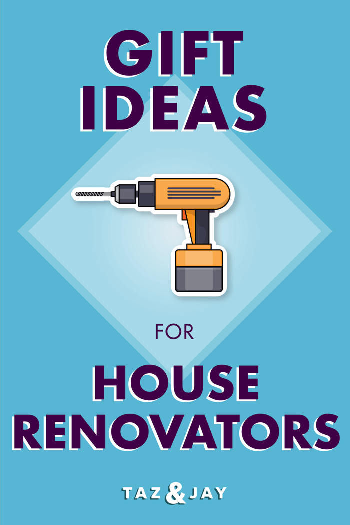 gifts for someone renovating their house pinterest pin image