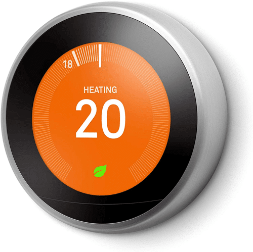 an image of the google nest learning thermostat