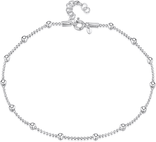 an image of a sterling silver anklet