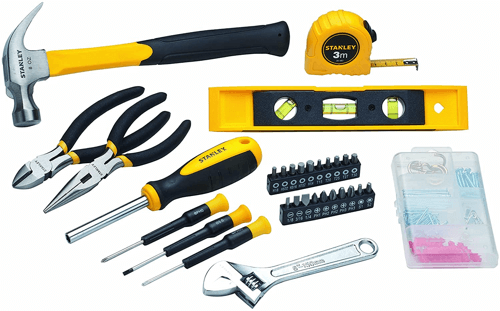 an image of a stanley thirty piece toolkit